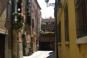 Walk around the Jewish Ghetto. Things to do in Ferrara